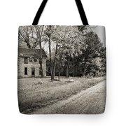 Stone House Road Tote Bag