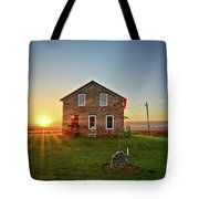 Stone House Sunrise Tote Bag