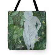 Stone Lady In The Butercups Tote Bag
