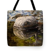 Stone Landscape Original Oil Painting Tote Bag