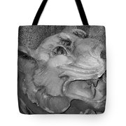 Stone Lion Tote Bag