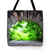 Stone Lookout Tote Bag