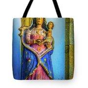 Stone Madonna Tote Bag