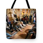 Stone Of Anointing Tote Bag