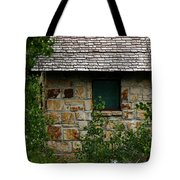 Stone Outhouse 1 Tote Bag