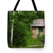 Stone Outhouse 2 Tote Bag