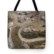 Stone Quarry Aerial Tote Bag