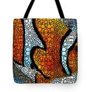 Stone Rock'd Clown Fish 2 - Sharon Cummings Tote Bag
