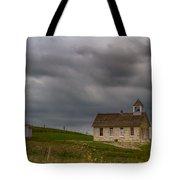 Stone Schoolhouse Tote Bag