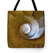 Stone Spiral Tote Bag