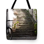 Stone Stairs Tote Bag