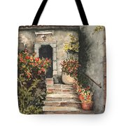 Stone Steps Tote Bag