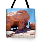 Stone Temple Valley Of Fire Tote Bag
