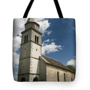 Stone Tile Roof Of The Church Of The Holy Cross In Tomaj Parish  Tote Bag