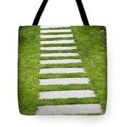 Stone Walkway Tote Bag