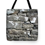 Stone Wall Detail Doolin Ireland Tote Bag