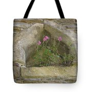 Stone Wall Determination Tote Bag
