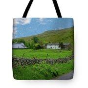 Stone Wall Lake District - P4a16012 Tote Bag