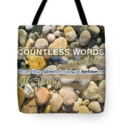 Stone Wisdom Tote Bag