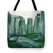 Stonehenge In Spring Tote Bag