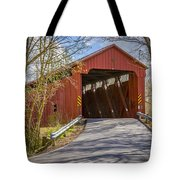 Stonelick Covered Bridge Tote Bag