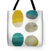 Stones- Abstract Art Tote Bag