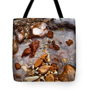 Stones And Ice Tote Bag