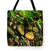 Stones Beside The Stream Tote Bag
