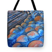 Stones By The Sea Tote Bag