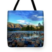 Stones By The Similkameen Tote Bag