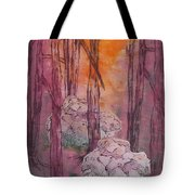 Stones Cry Out Tote Bag