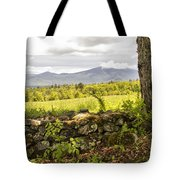 Stonewall And Cannon Mountain Tote Bag