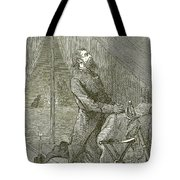Stonewall Jackson Before The Battle Tote Bag