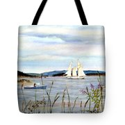 Stonington Harbor, Maine Tote Bag