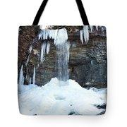 Stony Kill Falls In February #2 Tote Bag