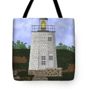 Stony Point On The Hudson River New York Tote Bag
