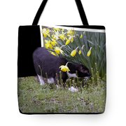 Stop And Feel The Flowers Tote Bag