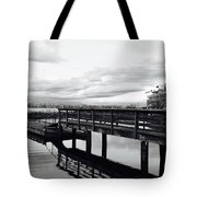 Stop And Reflect Tote Bag