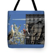 Stop Chemtrails Tote Bag