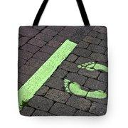 Stop Line Tote Bag
