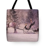 Stopping By Woods Tote Bag