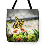 Stopping For Lunch Tote Bag