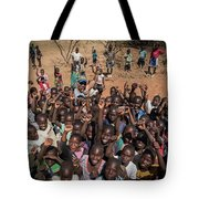 Stopping On The Side Of The Road Always Draws A Crowd Tote Bag