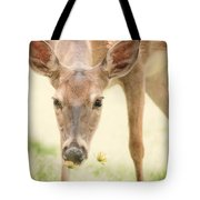 Stopping To Smell The Flowers Tote Bag