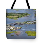 Stopping Traffic Topsail Island Tote Bag