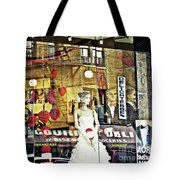Store Front Wedding Tote Bag