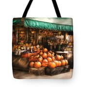 Store - Hoboken Nj - The Fruit Market Tote Bag