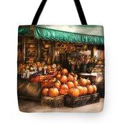 Store - Hoboken Nj - The Fruit Market Tote Bag