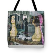 Store Window Stares Tote Bag