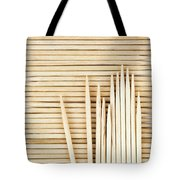 Stored Wooden Toothpicks Tote Bag